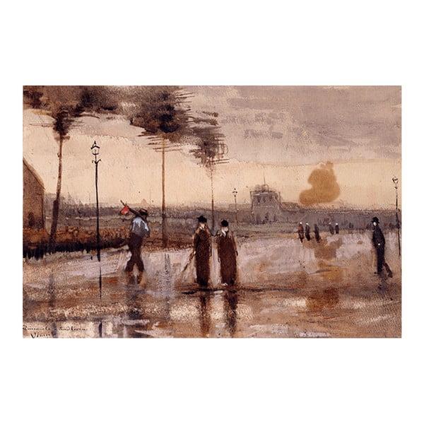 Obraz Vincenta van Gogha - A Sunday in Eidhoven, 40x26 cm