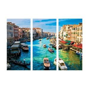 3-dielny obraz Benátky