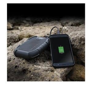 Odolná čierna nabíjačka na cesty Veho Pebble Endurance Powerbank 10 Pro, 15 000 mAh