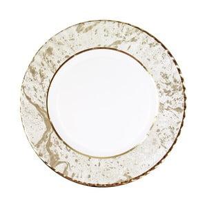 Sada 8 veľkých pevných papierových tanierov s dekoratívnym motívom Talking Tables