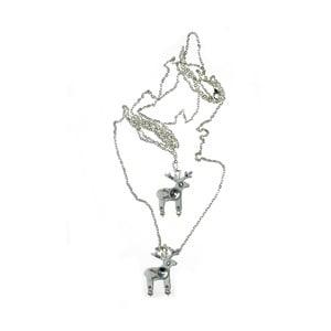 Jelení dvojitý náhrdelník Borri&Berri