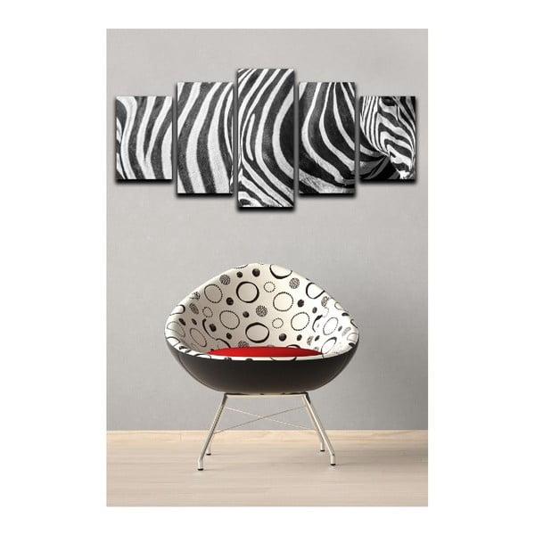 Viacdielny obraz Black&White Zebra