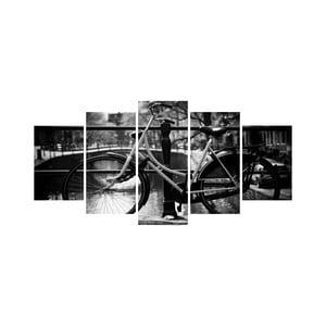 Viacdielny obraz Black&White no. 58, 100x50 cm