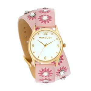 Dámske hodinky s koženým remienkom Manoush Rosarita