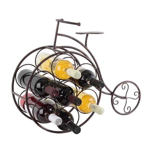 Stojan na fľaše vína Rustic Bike