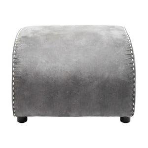 Sivá podnožka Kare Design Ritmo