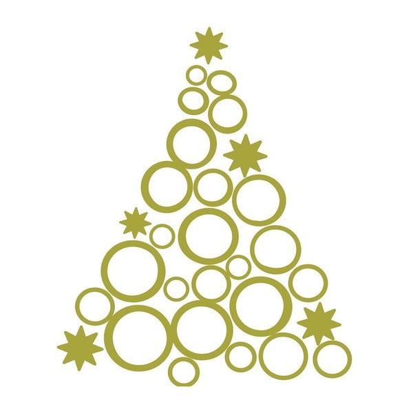 Vianočná samolepka Fanastick Christmas Tree Design