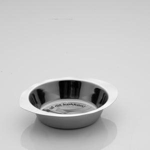 Oválná nehrdzavejúca miska Steel, 25 cm