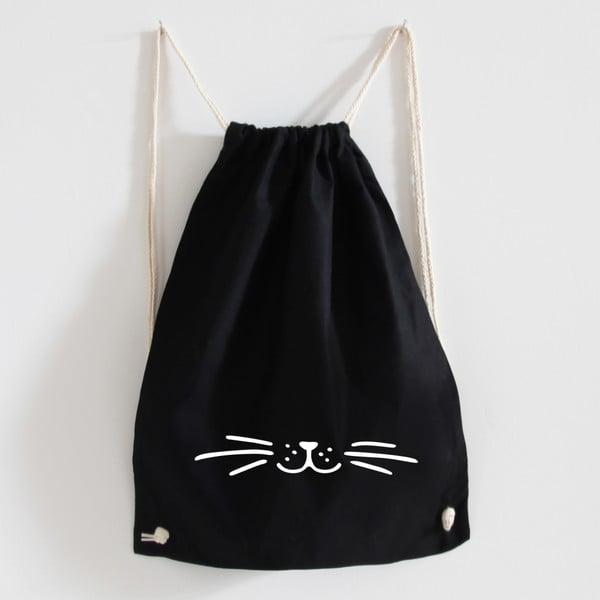 Plátený batoh Schnurr Black