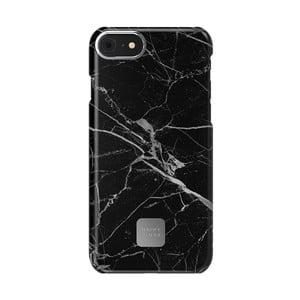 Čierno-sivý ochranný kryt na telefón pre iPhone 7 a 8 Happy Plugs Slim