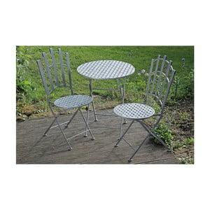 Záhradný set stolíka a 2 stoličiek Nina