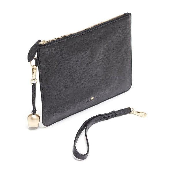 Listová kabelka Bell & Fox Wristlet Black