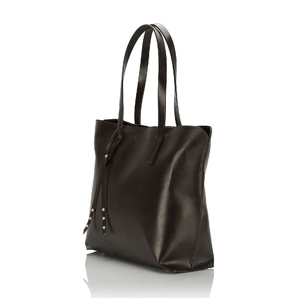 Kožená kabelka Giorgio Costa 15005 D-BROWN