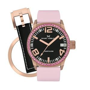 Dámske hodinky Marc Coblen s remienkom a krúžkom na ciferník naviac P88