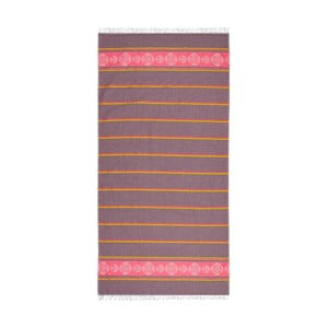 Hammam osuška Loincloth Pink/Burgundy, 80x170 cm
