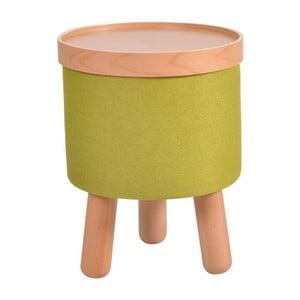 Zelená stolička Garageeight Molde s odnímateľným vrchom, veľkosť S