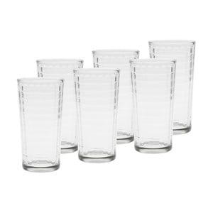Sada 6 pohárov Groove, 6,5x13 cm