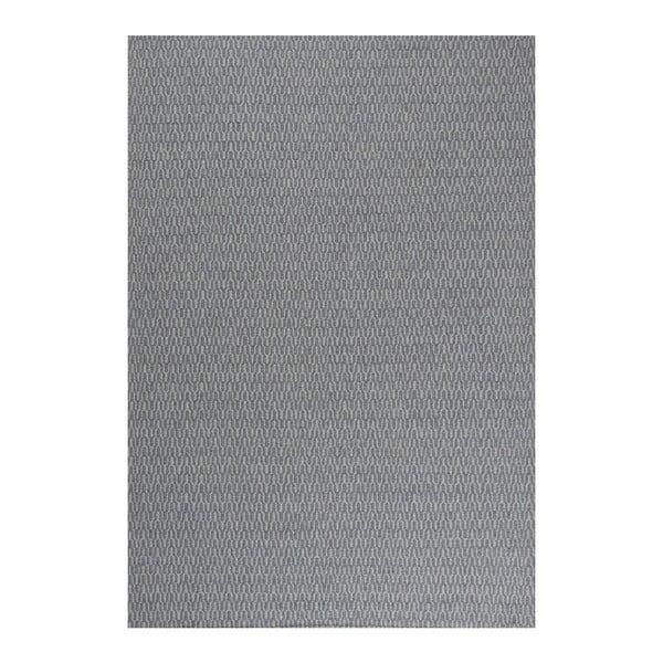 Vlnený koberec Charles Indigo, 140x200 cm