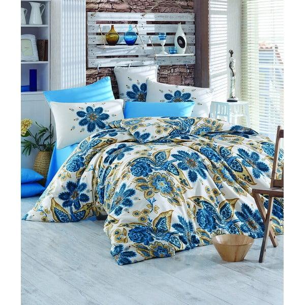Obliečky s plachtou Hitit Turquoise, 200x220 cm