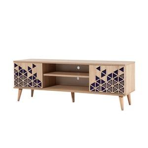 TV stôl Truva Blue, šírka 140 cm