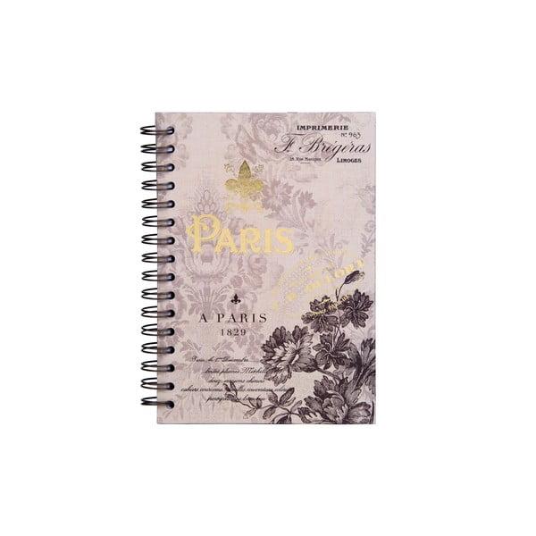 Špirálový zápisník Tri-Coastal Design Paris 1829