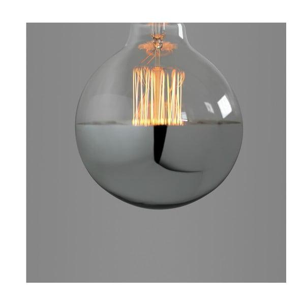 Žiarovka Super Globe Silver Edison E27 40W