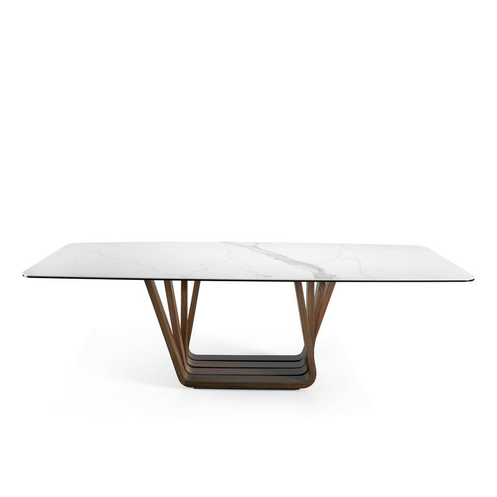 Jedálenský stôl s mramorovou doskou Ángel Cerdá Walnut