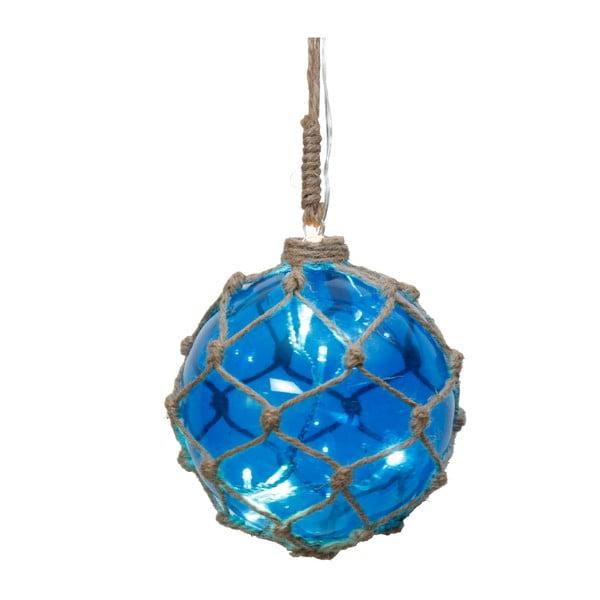 Svietiaca dekorácia Noah Blue, 12 cm