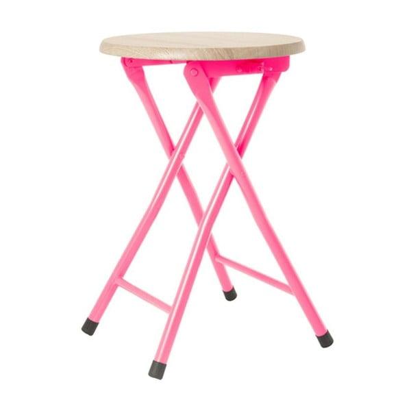 Stolička Bar Bright Pink