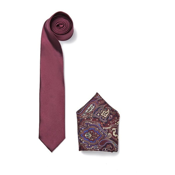 Set kravaty a vreckovky Ferruccio Laconi 11