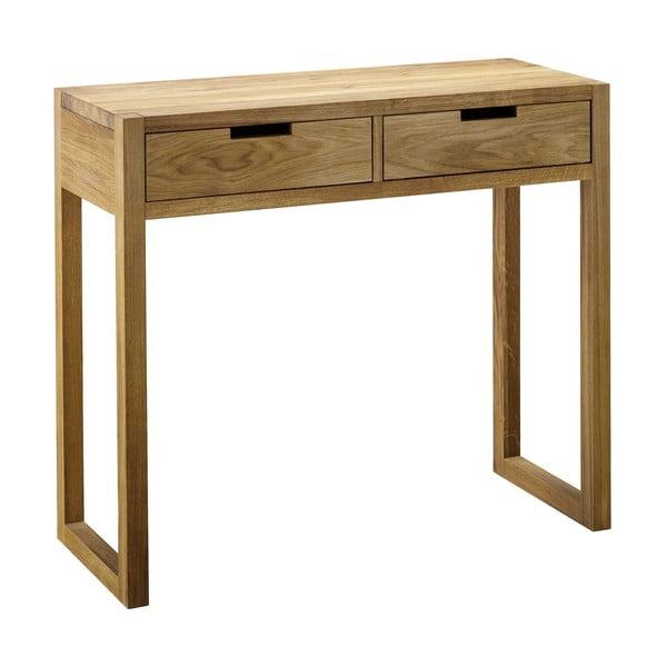 Konzolový stolík z dubového dreva Fornestas Sims