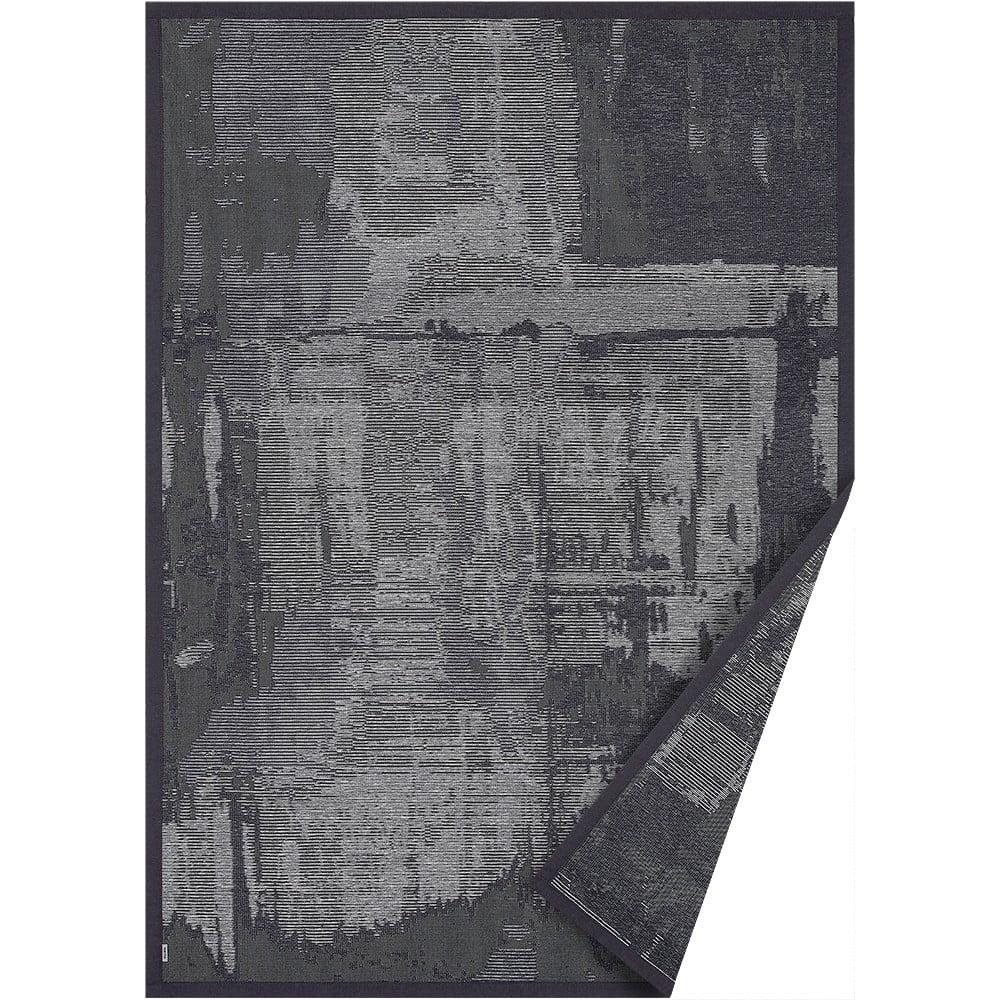 Sivý obojstranný koberec Narma Nedrema, 100 x 160 cm