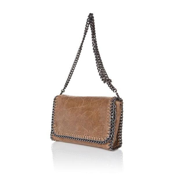 Kožená kabelka Chain Fango