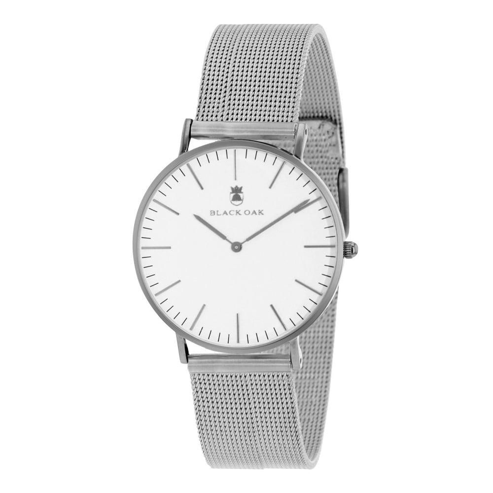 Strieborné dámske hodinky Black Oak Steel  45783cb83f6