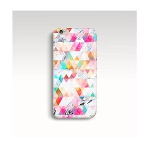 Obal na telefón Marble Geometric pre iPhone 6/6S