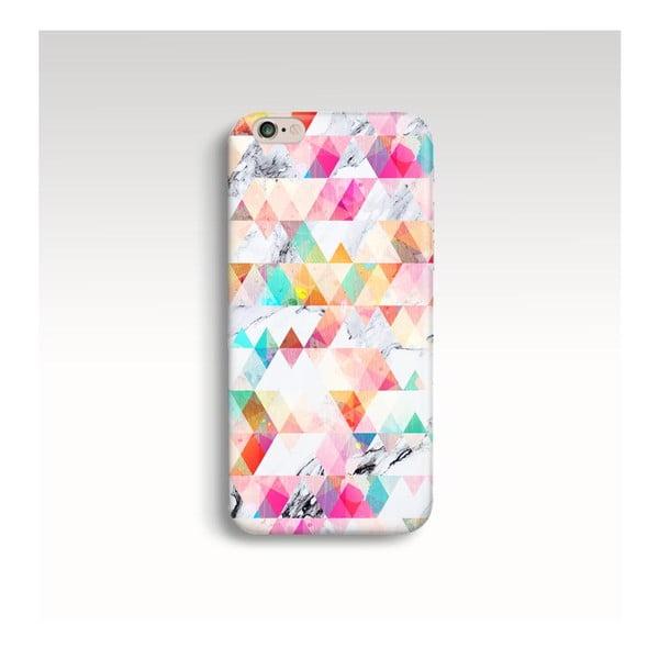 Obal na telefón Marble Geometric pre iPhone 5/5S