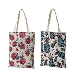 Sada 2 látkových tašiek Unimas Shopping, 34×44 cm