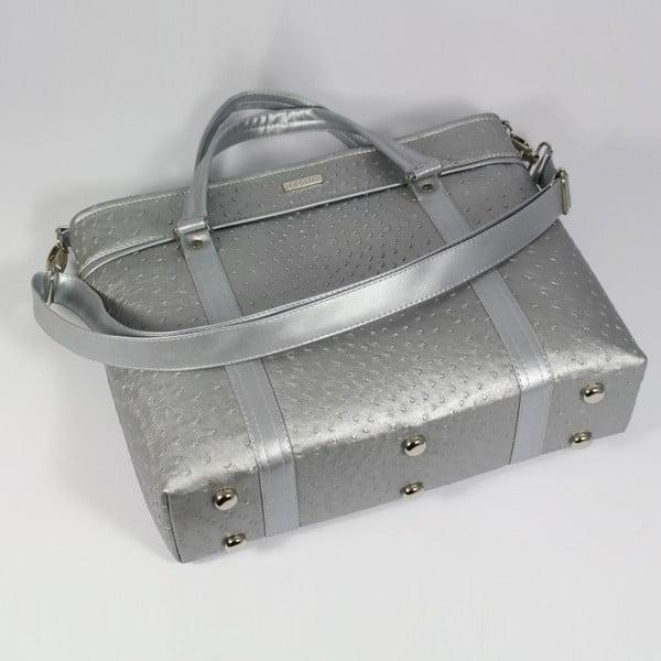 Kabelka Dara bags Futurio Classic Big Silver