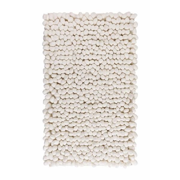 Kúpeľňová predložka Bodhi Ivory, 60x100 cm