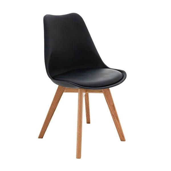 Stolička Carisse, čierna