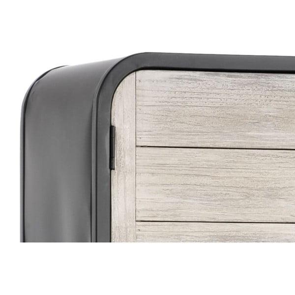 Skriňa Metal Modern, 40x35x160 cm