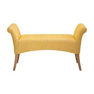 Žltá lavica Kare Design Motley Rhythm