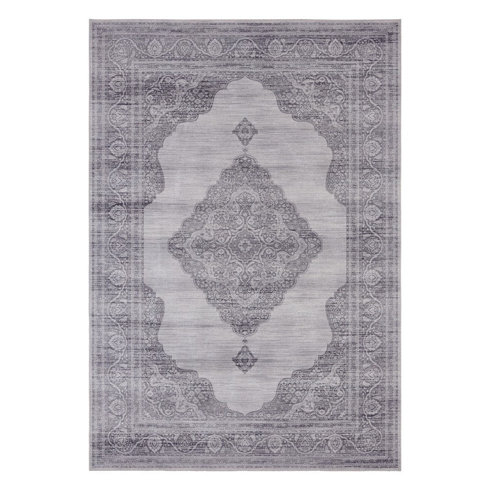 Svetlosivý koberec Nouristan Carme, 120 x 160 cm