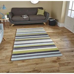Modro-zelený koberec Think Rugs Hong Kong Blue Green, 120x170cm
