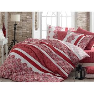 Obliečky s plachtou Lisa Red, 200x220cm