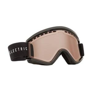 Pánske lyžiarske okuliare Electric EGV Gloss Black - Bronze, veľ. M