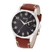 Pánske hodinky s koženým remienkom Hugo Boss Joyce