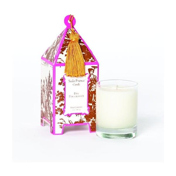 Sada 2 sviečok Pink Pomergranite, 12-15 hodín horenia