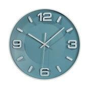 Modré nástenné hodiny Ixia