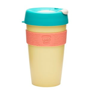 Cestovný hrnček s viečkom KeepCup Original Custard Apple, 454 ml